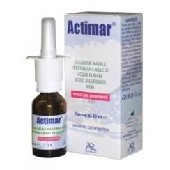 ACTIMAR SOLUZIONE NASALE SPRAY SALINA 3% CON ACIDO IALURONICO + MSM 20 ML CON EROGATORE