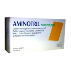 AMINOTRIL FITOCOMPLEX 40 FIALE 2 ML