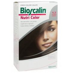 BIOSCALIN NUTRI COLOR 4,3 CASTANO DORATO SINCROB 124 ML