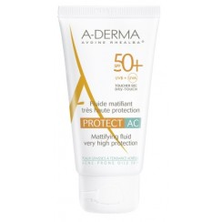 ADERMA A-D PROTECT AC FLUIDO MAT 50+ 40 ML
