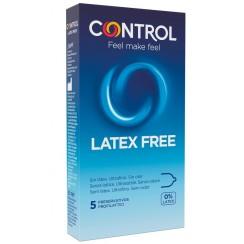 CONTROL NEW LATEX FREE 5 PEZZI