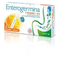 ENTEROGERMINA*orale sosp 10 flaconcini 4 mld 5 ml