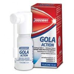 GOLA ACTION*spray mucosa orale 0,15% + 0,5%