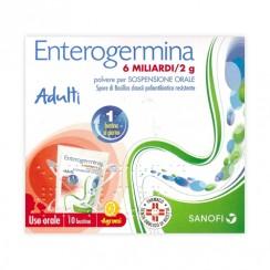 ENTEROGERMINA*orale sosp 10 bustine 6 mld 2 g