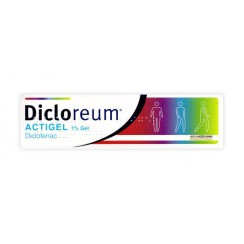 DICLOREUM ACTIGEL*gel 100 g 1%