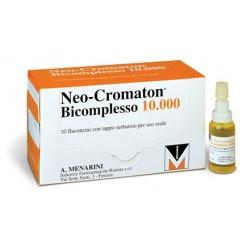 NEOCROMATON BICOMPLESSO 10.000*orale soluz 10 flaconcini 15ml