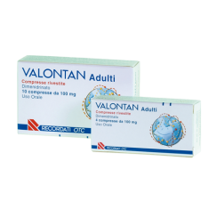 VALONTAN*10 cpr riv 100 mg