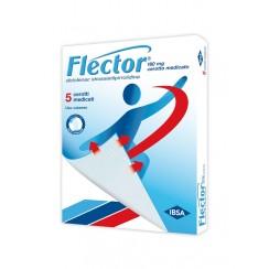 FLECTOR*5 cerotti medicati 180 mg