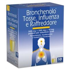 BRONCHENOLO TOSSE INFLUENZA E RAFFREDDORE*orale polv 10 buste