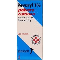 PEVARYL*polv cutanea 30 g 1%