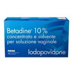 BETADINE*soluz vag 5 flaconi + 5 fiale 10 ml 10% + 5 cannule