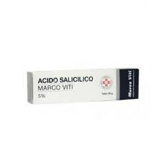 ACIDO SALICILICO (MARCO VITI)*ung derm 30 g 5%