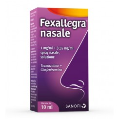 FEXALLEGRA NASALE*spray nasale 10 ml 1 mg/ml + 3,55 mg/ml