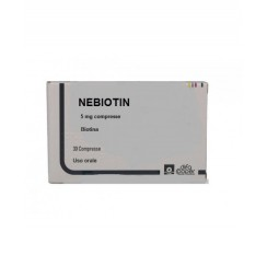 NEBIOTIN*30 cpr 5 mg