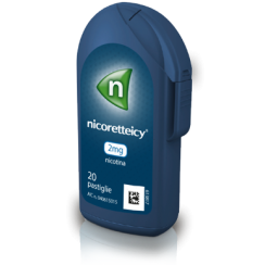 NICORETTEICY*20 pastiglie 2 mg flacone