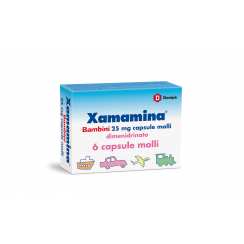 XAMAMINA*BB 6 cps molli 25 mg