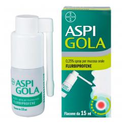 ASPI GOLA*spray mucosa orale 15 ml 0,25%